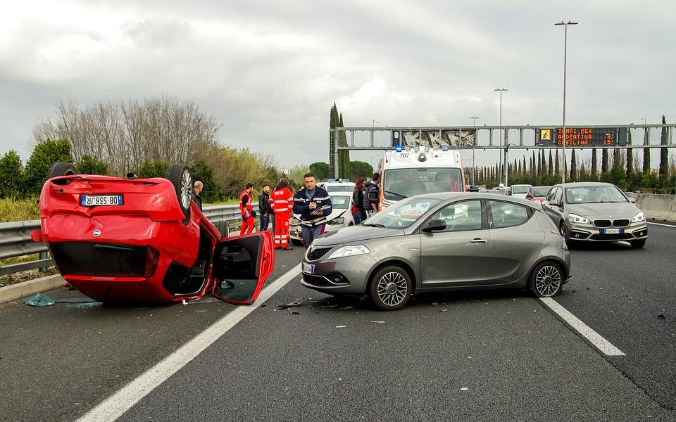 Reclamación por accidentes de tráfico